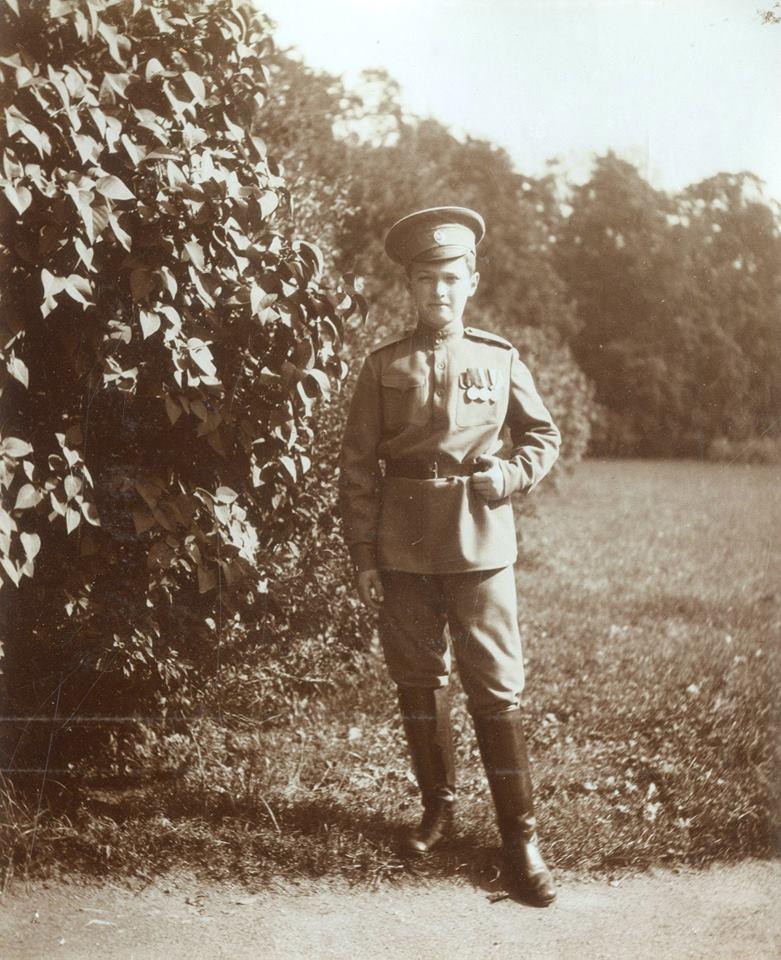Tsesarevich Alexei Nikolaevich.