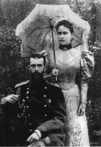 Grand Duke Sergei and his wife, Grand Duchess Elizaveta Feodorovna (Ella)