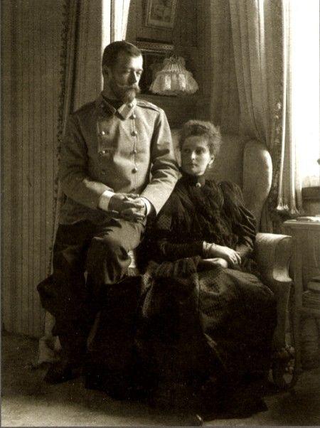 Tsar Nicholas II and Tsarina Alexandra