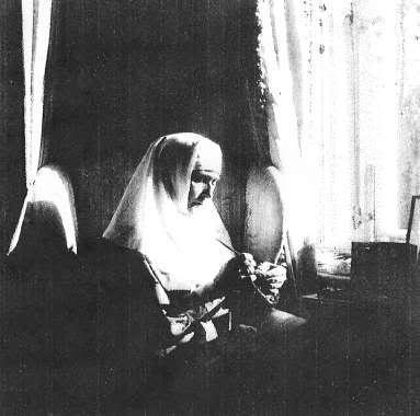 Sister of Mercy Alexandra Feodorovna Romanov