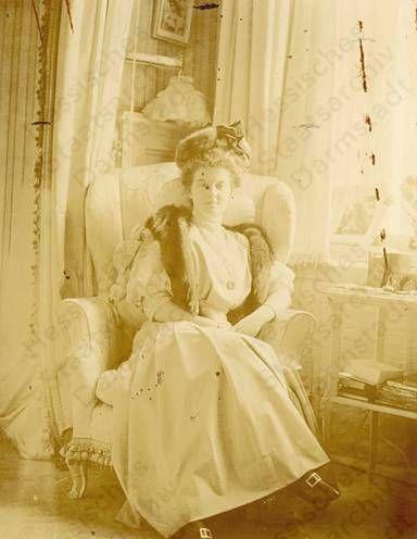 Grand Duchess Maria Pavlovna, Tsar Nicholas II's first cousin