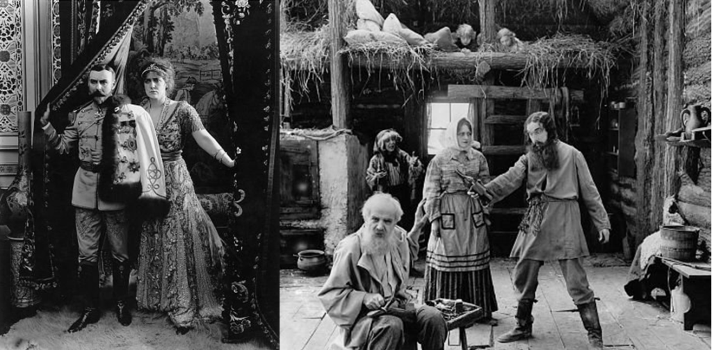 THE FALL OF THE ROMANOFFS: A lost film based on the last pre Russian revolution year of the Romanov family and Rasputin. It was released in 1917, BEFORE the execution of the Romanov family.