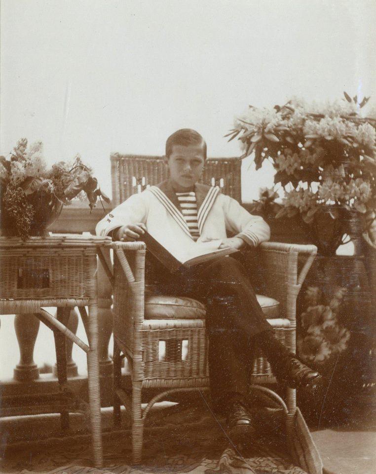 Tsarevich Alexei Romanov
