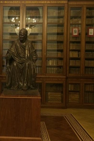 Voltaire Room at Rossiyskaya Natzionalnaya Biblioteka