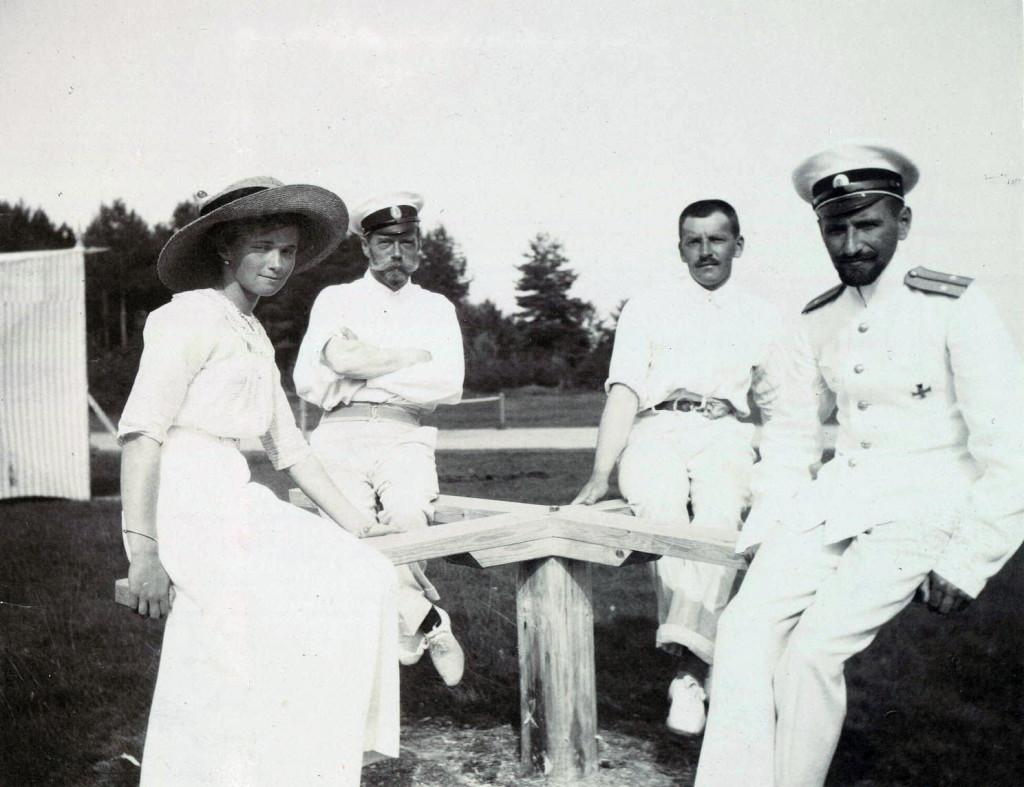 "Grand Duchess Olga and her beloved ""S."", Officer Paul Voronov."