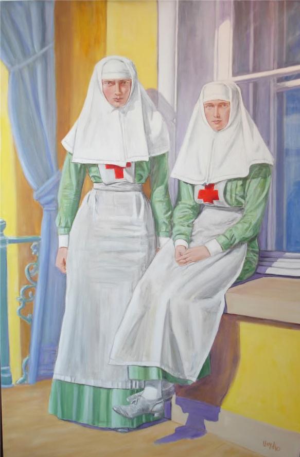 Sisters (of Mercy) Olga Romanova and Tatiana Romanova