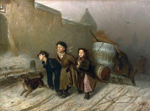 """Troika"" by Ilya Repin"