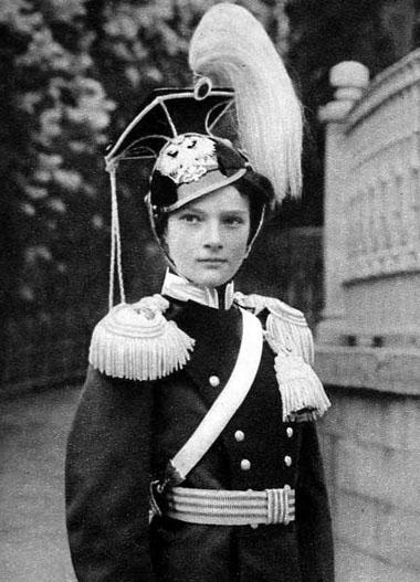 Grand Duchess Tatiana Romanov in her regiment's Ulan uniform