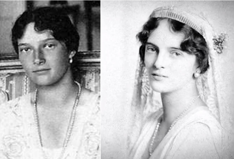 Grand Duchess Tatiana and Princess Irina