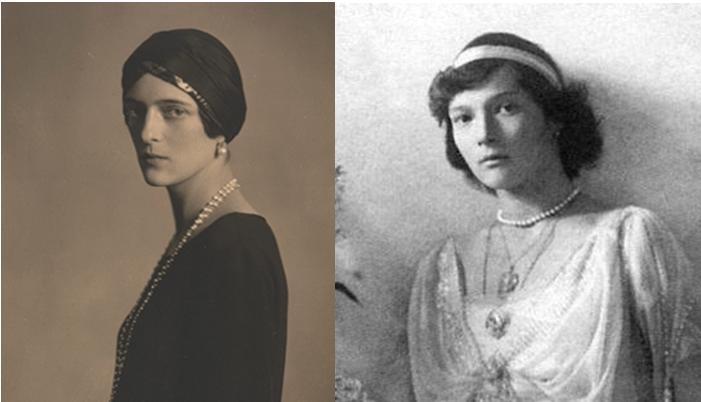 Grand Duchess Tatiana and Princess Irina