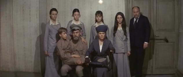 "The Romanov family in the film ""Nicholas and Alexandra"""