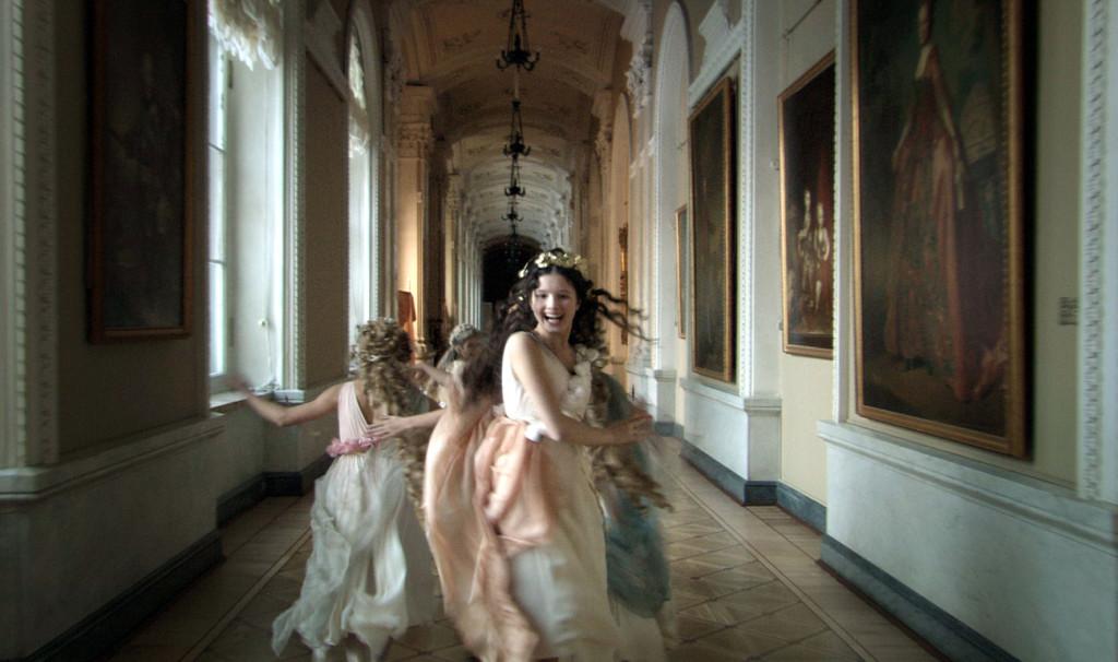 "The Grand Duchesses Olga, Tatiana, Maria and Anastasia in the film ""The Russian Ark"""
