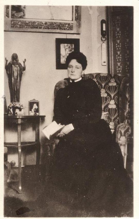 Tsarina Alexandra Feodorovna.