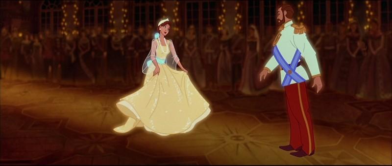 "Tsar Nicholas II and Grand Duchess Anastasia in the Warner Brothers cartoon ""Anastasia"""