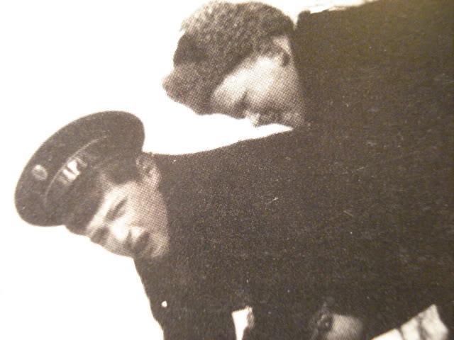 Tsarevich Alexei with his friend Kolya Derevenko