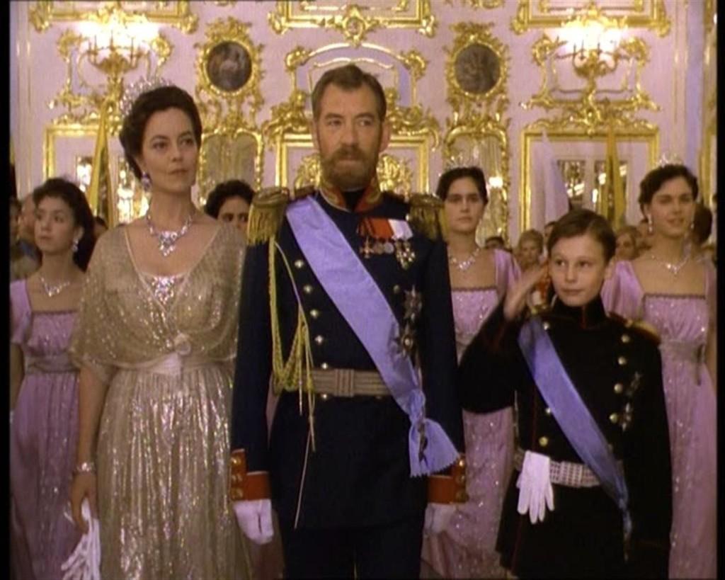 "Tsar Nicholas II and Empress Alexandra in the film ""Rasputin""."