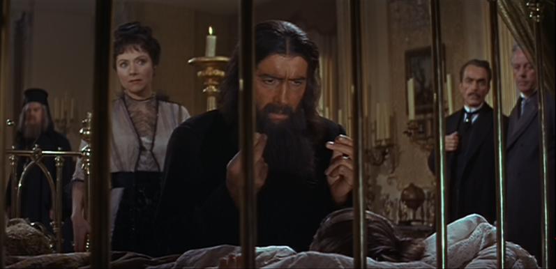"Grigori Rasputin in the film ""Rasputin the Mad Monk"""
