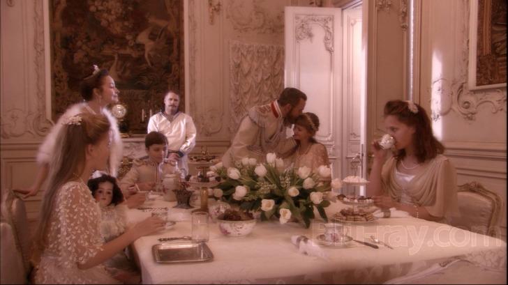 "The Romanov family in the film ""Russian Ark"""