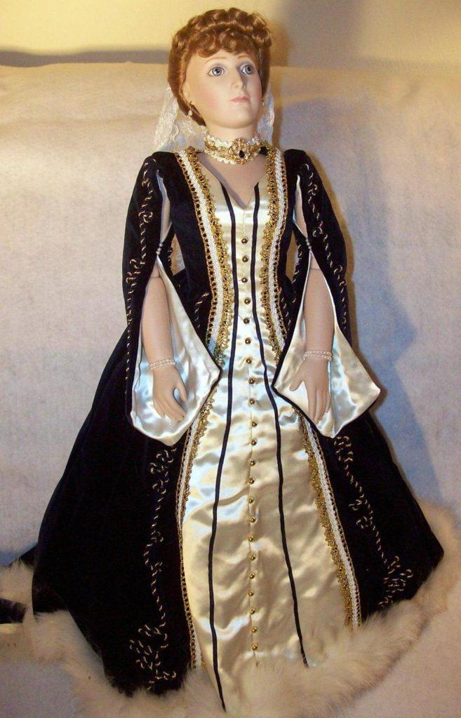 Empress Alexandra Romanov doll