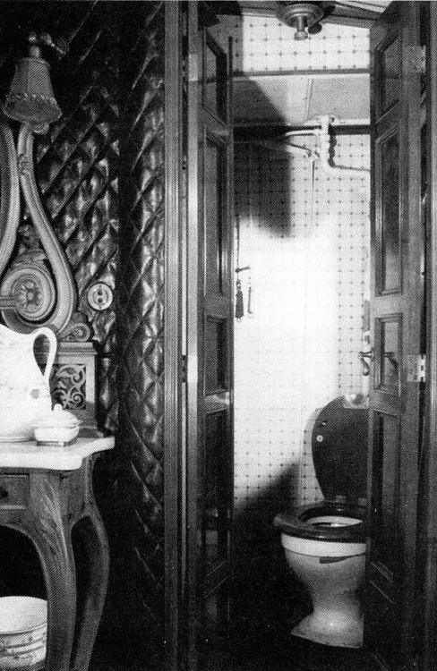 Inside the Romanov family train