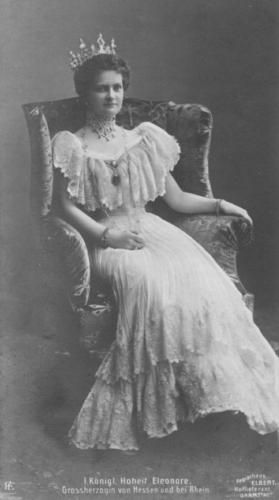 Grand Duchess Eleanor of Hesse by Rhine, wife of Grand Duke Ernest of Hesse by Rhine - brother of Empress Alexandra.