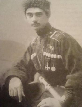 Veli Bey Sadiq Bey Yedigarov oglu - one of the patients at the infirmary of Sister of Mercy Tatiana Romanov.