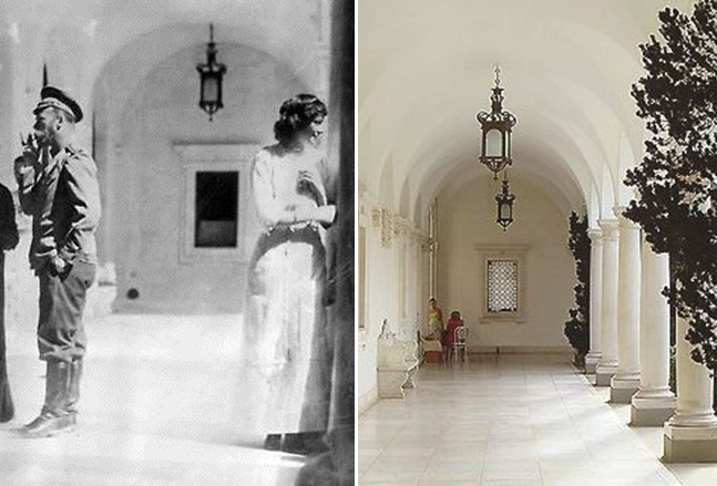 Grand Duchess Tatiana at Livadia Palace