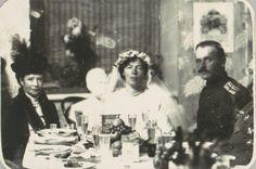 Grand Duchess Olga Alexandrovna with her new husband, Nikolai Alexandrovich Kulikovsky.