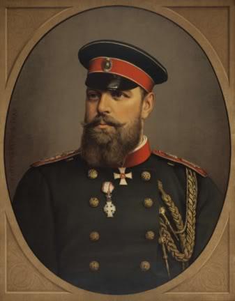 Tsar Alexander III, father of Nicholas II