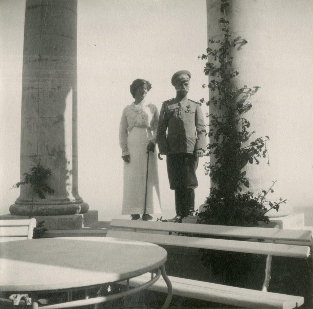 Grand Duchess Olga and Nicholas II