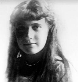Grand Duchess Anastasia Romanov in 1916.