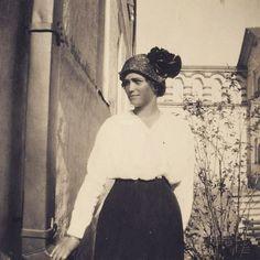 Grand Duchess Maria Romanov in 1916.