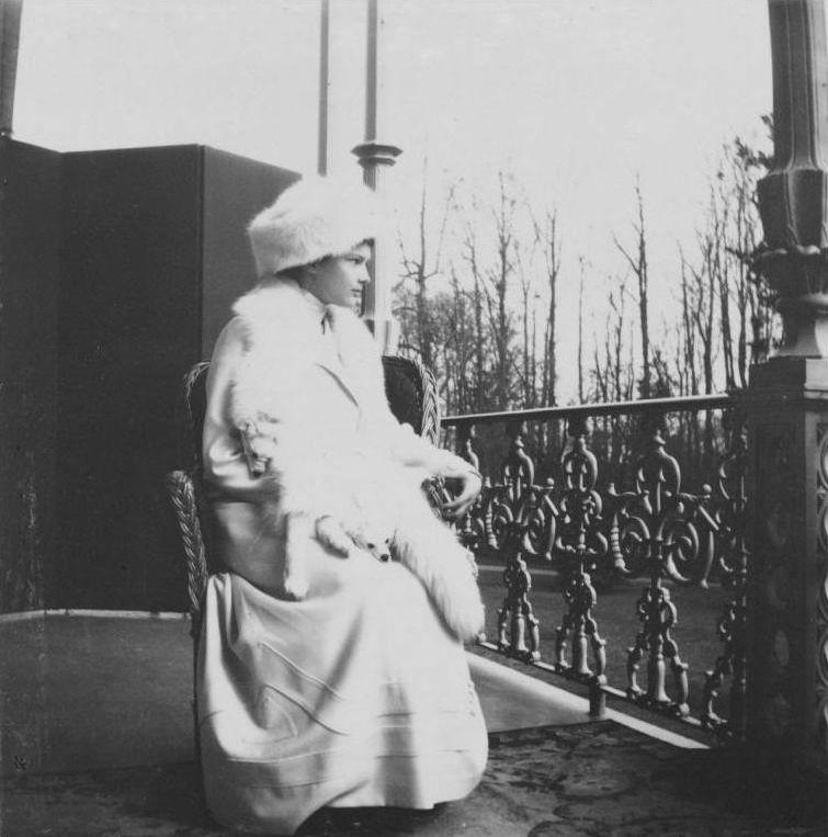 Grand Duchess Tatiana Romanov in 1913.