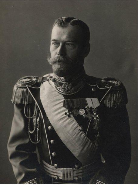 Tsar Nicholas II in 1913.