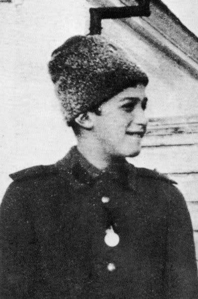 Tsarevich Alexei in 1916.