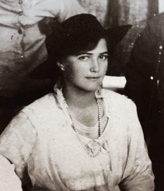 Grand Duchess Maria Romanov in 1916.