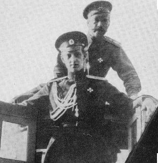 Grand Duke Dmitri Pavlovich with Nicholas II