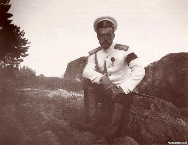 Nicholas II in Crimea, circa 1914.