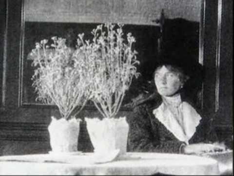 The last known photograph of Olga Romanov, circa 1918.