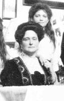 Empress Alexandra and her third daughter Grand Duchess Maria